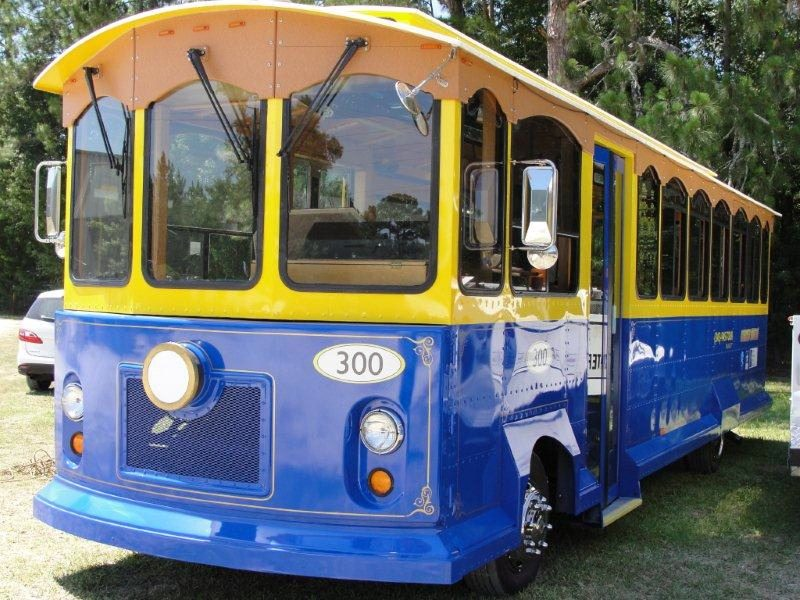 marineland tours trolley bus